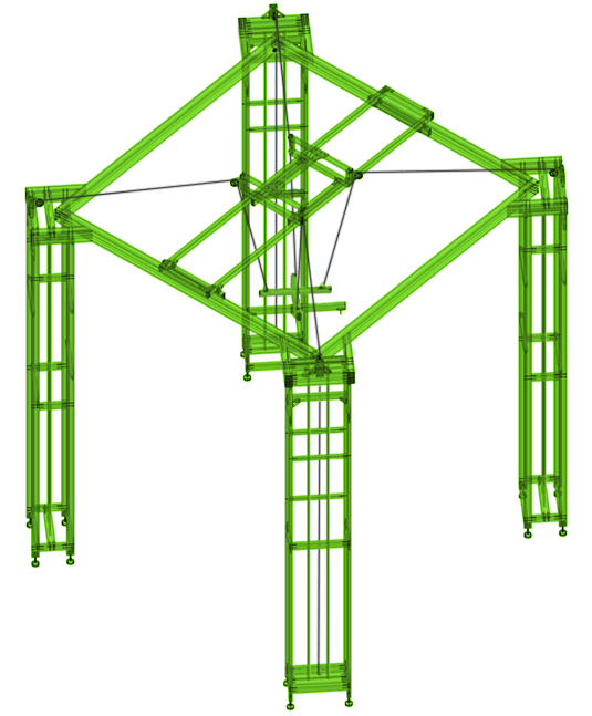 Z Axis Single XL77 Rendering