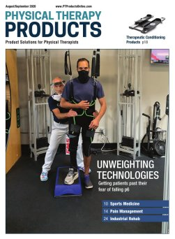 Physical therapy Products Sept/Oct 2020 Issue Cover